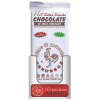 Redstone Foods Sriracha Hot Salted Chocolate Bar- Milk