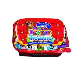 Redstone Foods Bearied Treasure Chest - Gummies + Toy Treasure (Pirate Bears & Friends)