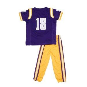 Fast Asleep PJ's LSU 2-Piece Outfit - Purple
