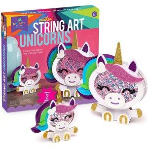 Ann Williams Craft tastic Stacked String Art Unicorns