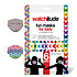 Watchitude (Ages 5-12) 6 Pack of Kids Face Masks - Style #699 (butterfly and rainbow playground)