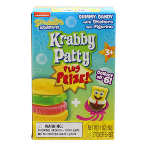 Redstone Foods Wonder Ball Plus Prize - Krabby Patty