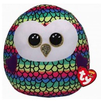 Ty Owen the Rainbow Owl - Squish A Boos
