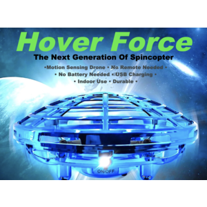 Spin Copter Hover Force - Motion Sensing Drone