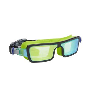 Bling2O Electric 80's Swim Goggles - Laser Lime