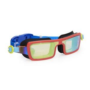 Bling2O Electric 80's Swim Goggles - Retro Red