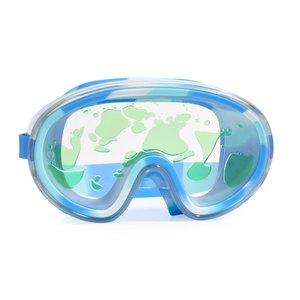 Bling2O Lava Swim Mask Goggles - Volcano Blue