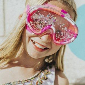 Bling2O Sand Art Swim Mask - Pink
