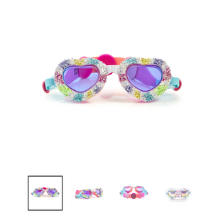 Bling2O I Luv Candy Sweethearts Swim Goggles