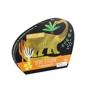 Floss & Rock 20 Piece - Dinosaur Jigsaw Puzzle (in shaped box)