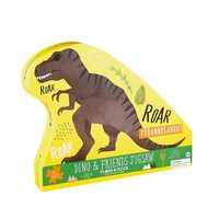 Floss & Rock 40 Piece - Dinosaur Jigsaw Puzzle (in shaped box)