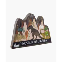 Floss & Rock 80 Piece - Dinosaur Jigsaw Puzzle (in shaped box)