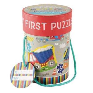 Floss & Rock Construction - First Jigsaw Puzzles 3, 4, 6 & 8 Piece