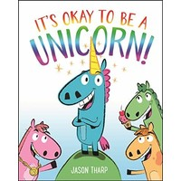 MacMillan MPS It's Okay to be a Unicorn! - Hardback with dustcover