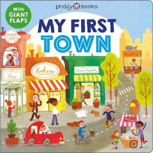 MacMillan MPS My First Town - with giant flaps - Board Book