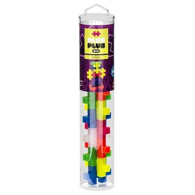 Plus Plus BIG 15 piece Tube - Neon Colors