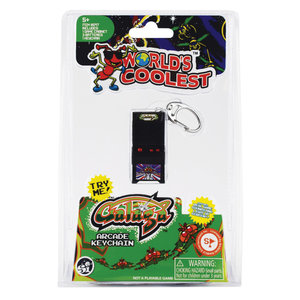 Super Impulse World's Coolest Light and Sound Arcade Keychain - Galaga