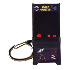 Super Impulse World's Coolest Light and Sound Arcade Keychain - Space Invaders