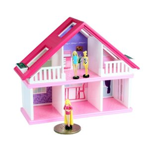Super Impulse World's Smallest Barbie Dreamhouse (Barbie in blue swimsuit)