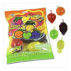 Redstone Foods Tik Tok Jelly Fruit Candy! Dindon Ju-C Jelly Bites Bag (8 pieces)