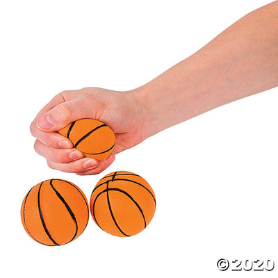 The Toy Network Basketball - Stress Ball Squishie