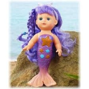 Universal Specialties Bathtime Magical Mermaid Doll - Purple Doll