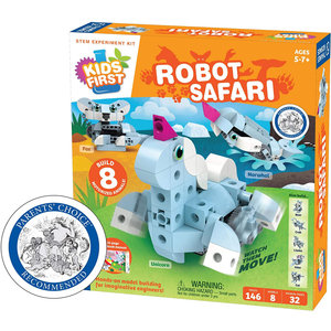 Thames & Kosmos Kids First: Robot Safari - Introduction to Motorized Machines