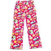 Candy Pink Summer Vibes Pants - Pink