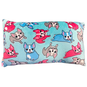 Candy Pink French Bulldog Rectangle Pillow
