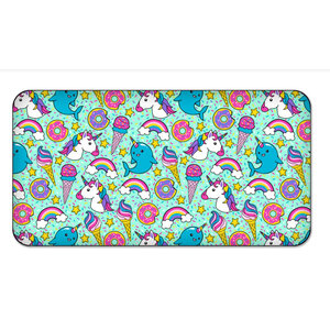 Candy Pink Sprinkles Rectangle Pillow