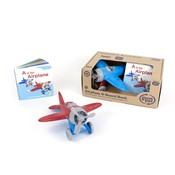Green Toys Airplane and Board Book Set