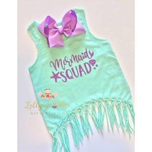 Lollipop Chic Bowtique Mermaid Squad Shirt