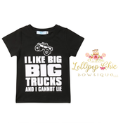 Lollipop Chic Bowtique Big Truck Tee