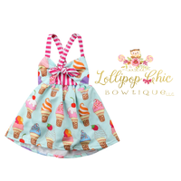 Lollipop Chic Bowtique Ice Cream Mini Dress