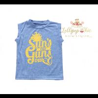 Lollipop Chic Bowtique Sun's Out Gun's Out Shirt