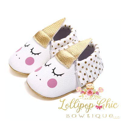 Unicorn Moccasins - Whimsical Alley