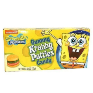 Redstone Foods Original Spongebob Krabby Pattie Box