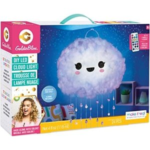 Make It Real DIY Floating Cloud Lamp with remote to change colors