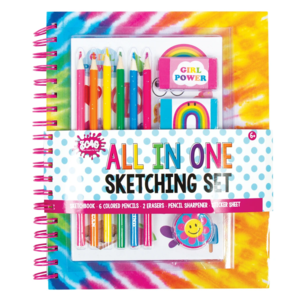 Make It Real All in One Sketching Set - Tie Dye