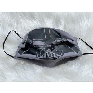 Sugar & Spice Star Wars Darth Vador (Grey) - Gathered Face Mask (Kids 4-12)