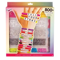 Fashion Angels Tell Your Story Alphabet Bead Case - Large - Neon Mix & Match