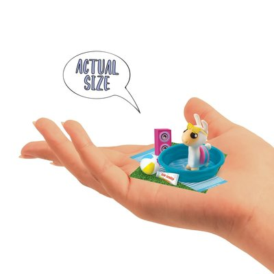 Fashion Angels 100% Extra Small Mini Clay Kit-POOL PARTY LLAMA