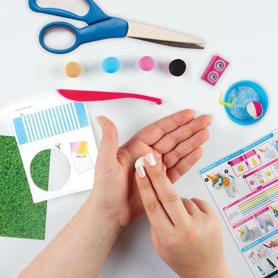 Fashion Angels 100% Extra Small Mini Clay Kit-YOGA UNICORN