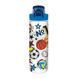 Hot Focus Pop-Open Water Bottle - Sports