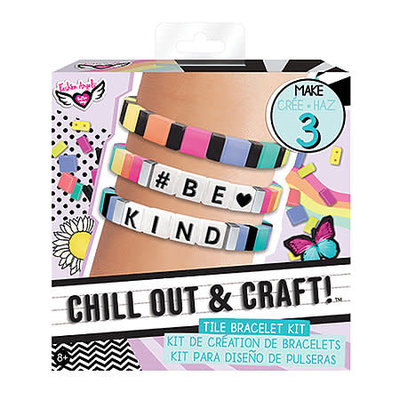 Fashion Angels CHILL OUT & CRAFT Tile Bracelet  Kit