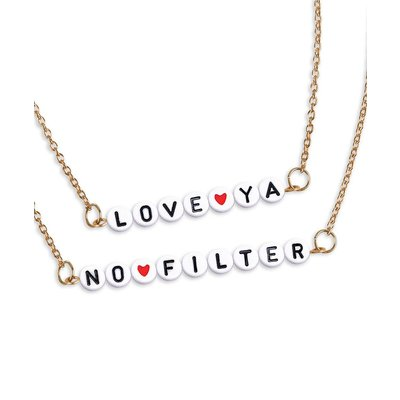 Fashion Angels Chill Out & Craft! Alphabet Necklace Kit