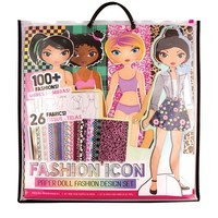 Fashion Angels Fashion Icon Paper Doll Fashion Design Kit