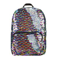 Fashion Angels Magic Sequin Backpack - Rainbow/Silver