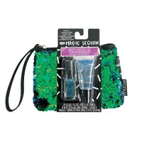 Fashion Angels Magic Sequin Beauty Wristlet - Mermaid