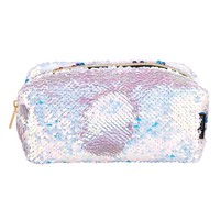 Fashion Angels Magic Sequin Cosmetic Bag - Lavender